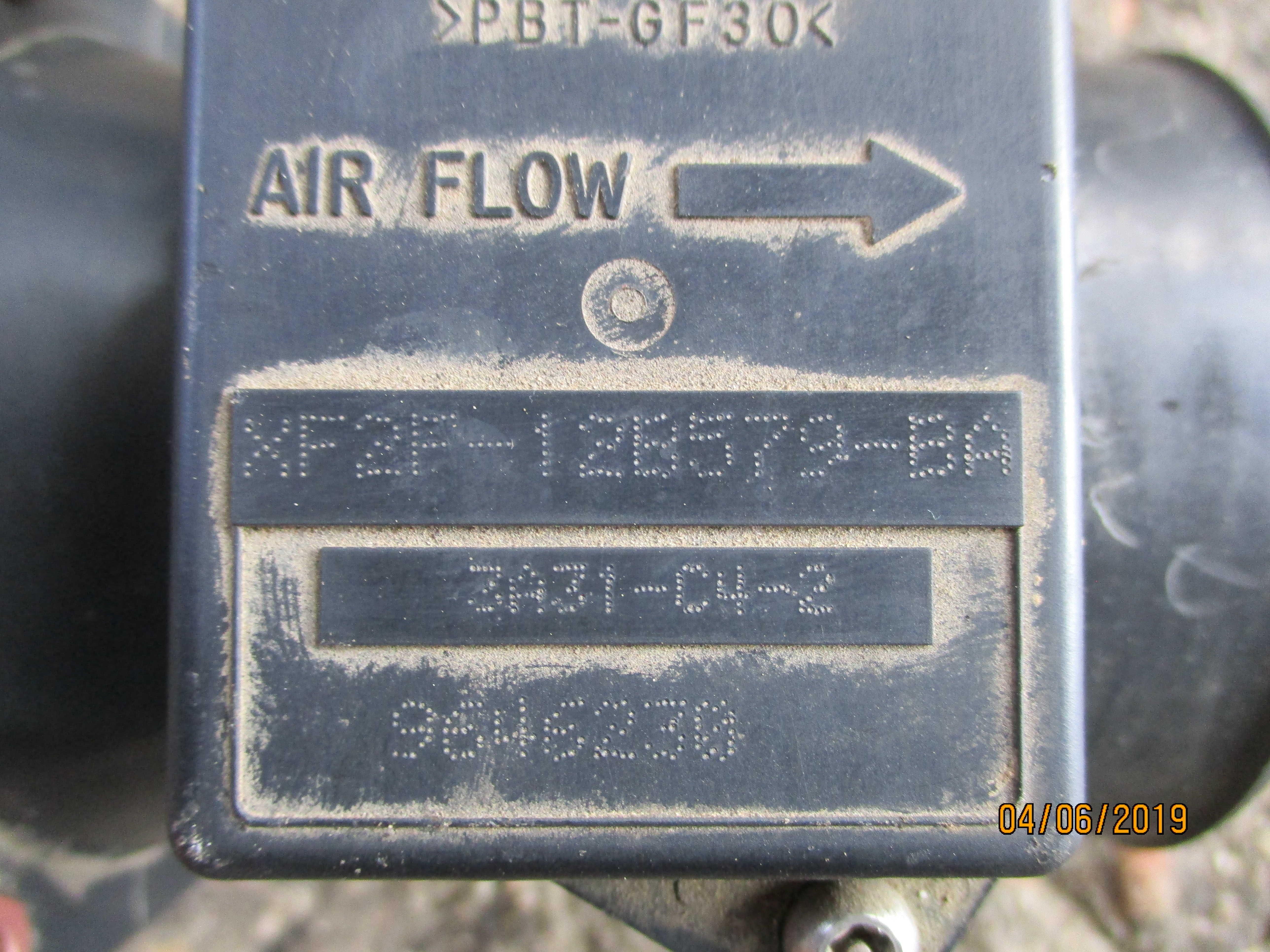 Μετρητής μάζας αέρα (XF2F12B579BA) Ford Maverick '03