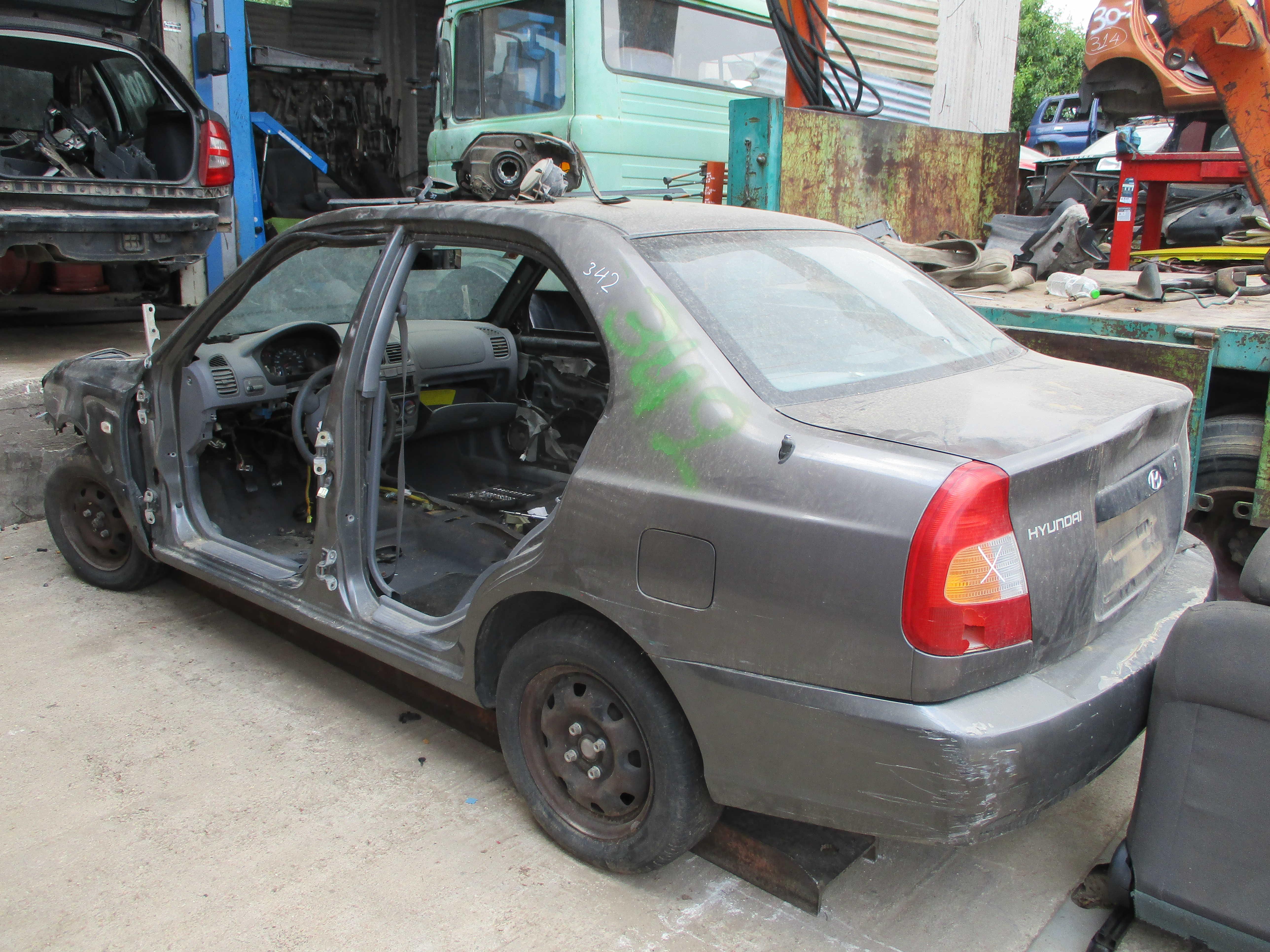 Πορτάκι Ρεζερβουάρ Hyundai Accent '01