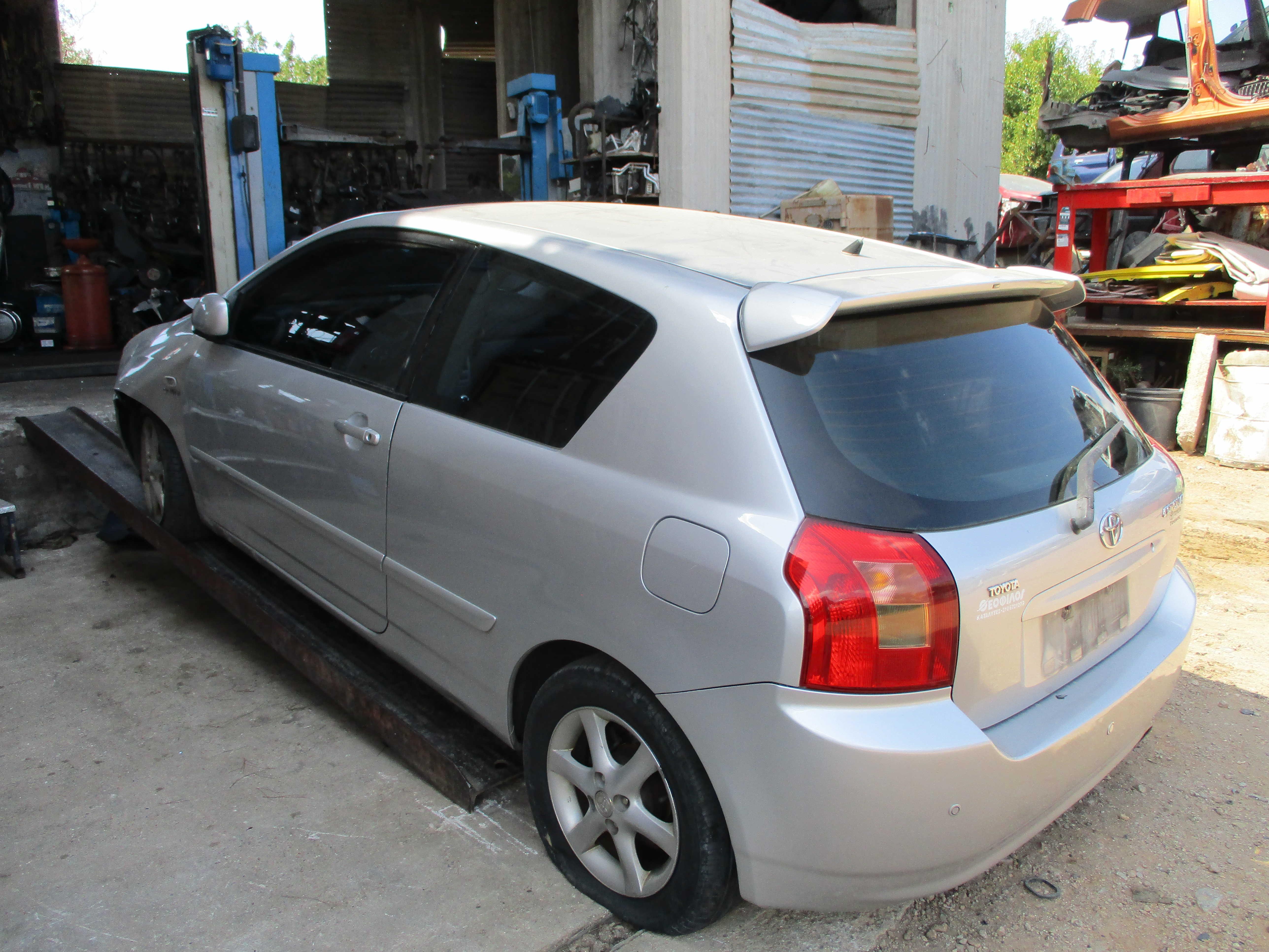 Αφαλοί πορτών Toyota Corolla '02